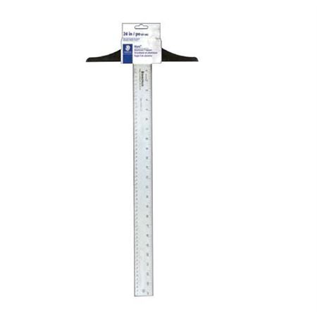 "T-Square aluminum 24 "", Calibrated Blade"