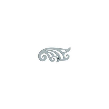 Curve Tinted French #26 6 1/2 inch