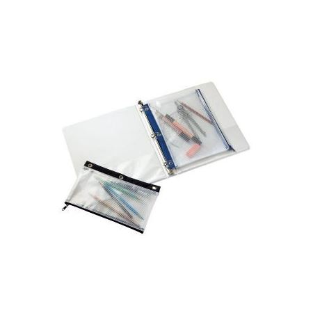 Mesh Pencil Pouch For 3 Ring Binders 8x11 Du All Art