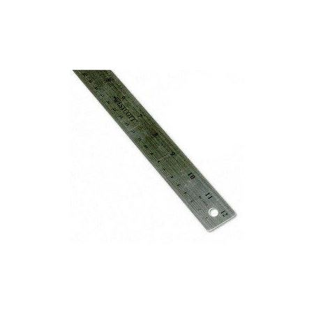 Flexible Stainless Steel Ruler 12 ""