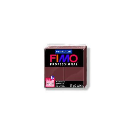 Fimo Professional Oven Hardening Modeling Clay 57g Box of 6 Chocolate