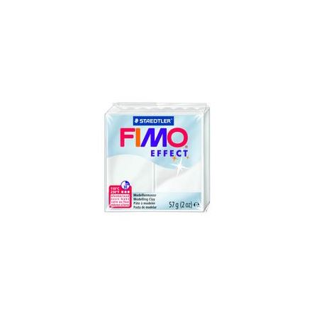 Fimo Clay Effect 57g Box of 6 Translucent White