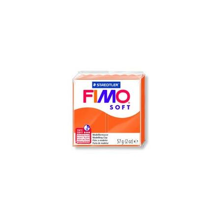 Fimo Clay Soft 57g Box of 6 Tangerine