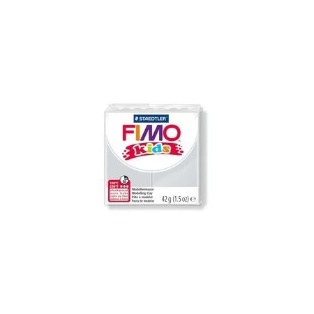 FIMO Kids Modeling Clay Box of 8 Light Grey