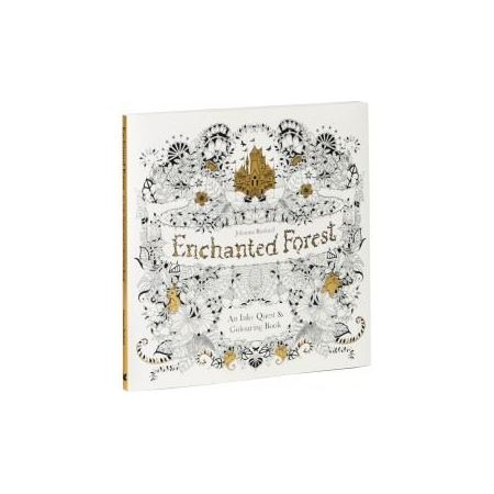 Book Coloring Book Enchanted Forest An Inky Quest Amp Author Johanna Basford