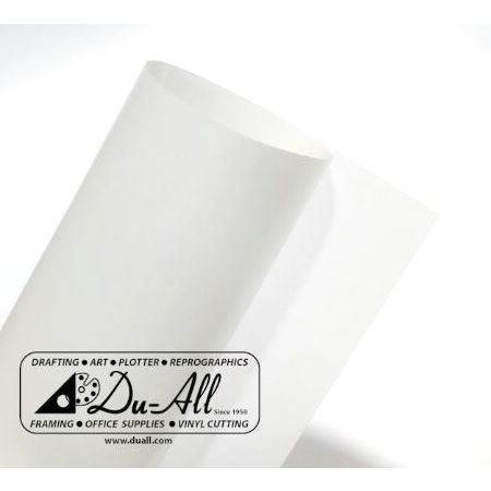 "Drafting film (mylar) 7mil Single Matte 60"" X 50yards"