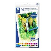 Karat Watercolor Crayons, Set of 24 Colors