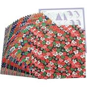 Origami Paper Yuzen Patterns 24 Sheet Assorted 5 7/8IN