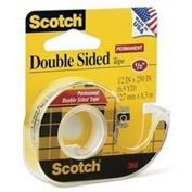 "Tape #136 Double Stick 1/2 "" X 250 """