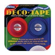 "Tape Deco 1 Each 1/8 "" Blk, Red, Grn, Wht,Yellow, Blue"