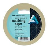 Tape Masking 3/4 In X 60 Yds
