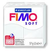 Fimo Clay Soft  57g Box of 6 White