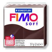 Fimo Clay Soft 57g Chocolate