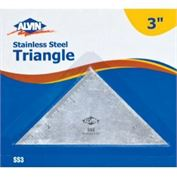 Triangle 3 Inch Stainless Steel