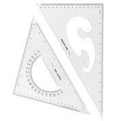 "Triangles 12"" Set of 2"