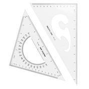 Pacific Arc Triangle 2 Piece Set  10 Inch