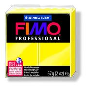 Fimo Professional Oven Hardening Modeling Clay 57g Box of 6 Lemon