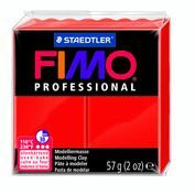 Fimo Professional Oven Hardening Modelling Clay 57g Box of 6 True Red
