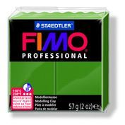 Fimo Professional Oven Hardening Modeling Clay 57g Box of 6 Leaf Green