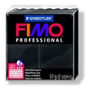 Fimo Professional Oven Hardening Modeling Clay 57g Box of 6 Black