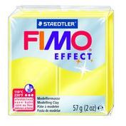 Fimo Clay Effect 57g Box of 6 Translucent Yellow