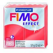 Fimo Clay Effect Soft 57g Box of 6 Translucent Red