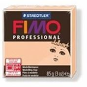 FIMO Professional Doll Art Modeling Clay 57g Box of 6 Opaque Cameo