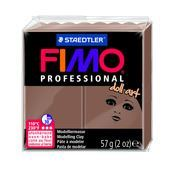 FIMO Professional Doll Art Modeling Clay 57g Box of 6 Opaque Nougat