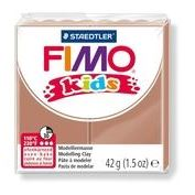 FIMO Kids Modeling Clay Box of 8 Light Brown