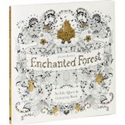 Book Coloring Book Enchanted Forest: An Inky Quest & Author Johanna Basford