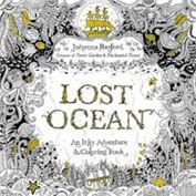Book Coloring Lost Ocean: An Inky Adventure and Coloring Book By Johanna Basford