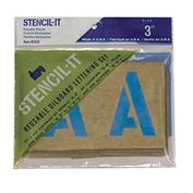 Duro Oil Board Stencils 3""