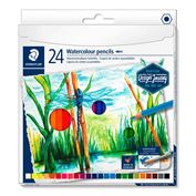 Watercolor Pencils 100% PEFC Box of 24
