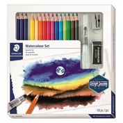 Watercolor Pencil Set Of 18 Pieces